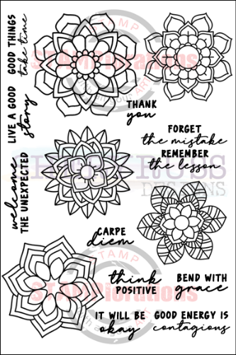 "BLOOMDALA BLISS 5"" by 7"" Stamp Set"