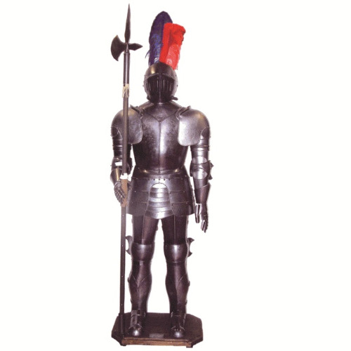 ME-H-02 sentinal-knight-armor-with-halberd-5