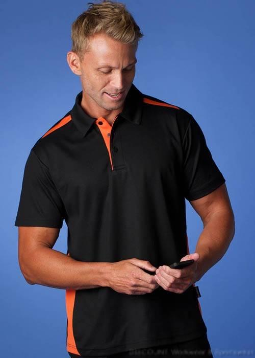 Paterson Mens  21 Colours  DriWear Cotton Lined Pique Knit Polo S-5XL  Aussie Pacific