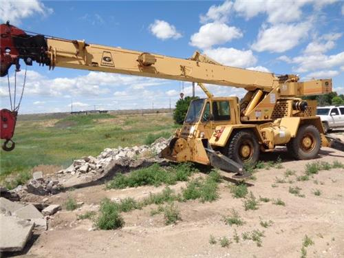 GROVE RT 58 C 20 TON  ALL TERRAIN CRANE WINCH MATERIAL HANDLER