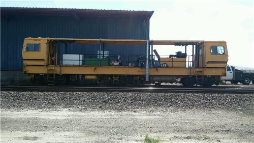 RAILROAD MAINTENANCE OF WAY  MOW PLASSER DYNAMIC PTS-62 TRACK STABILIZER