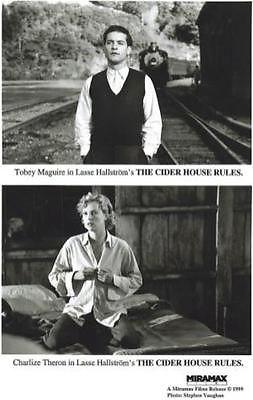 The Cider House Rules Tobey Mcguire Charlize Theron Hollywood Movie Photo