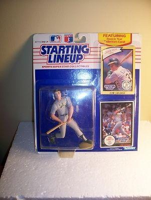 1990 Jose Canseco Oakland A's Starting Lineup Figure