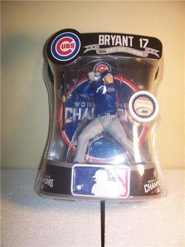 2017 Kris Bryant Chicago Cubs Imports Dragon Exclusive Baseball Figure