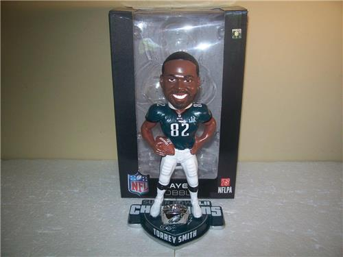 Torrey Smith SB Champion Philadelphia Eagles ForeverCollectible Bobblehead
