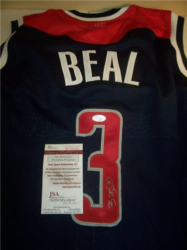 meet aa712 1bd85 Bradley Beal Washington Wizards JSA Certified Autographed Jersey