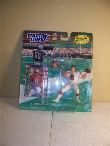 1999-2000 Steve Young San Francisco 49ers Starting Lineup Figure