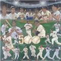 500 Homerun Club Lithograph by Robert Simon