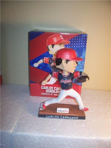 Carlos Carrasco Cleveland Indians Exclusive 2018 SGA Bobblehead