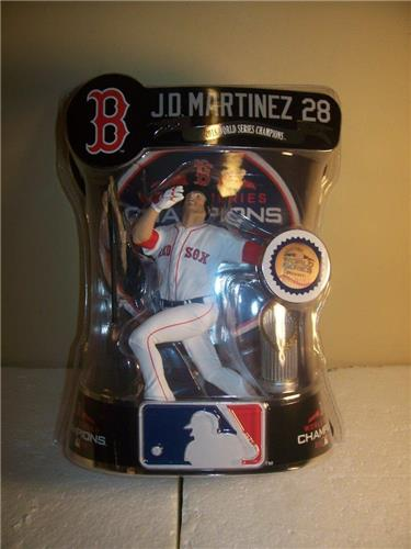 2019 J.D. Martinez Boston Red Sox Imports Dragon Baseball Figure