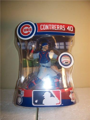 2019 Willson Contreras Chicago Cubs Imports Dragon Baseball Figure