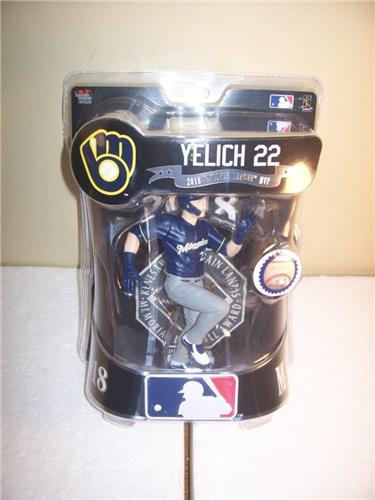 2019 Christian Yelich Milwaukee Brewers Sp. Ed. Imports Dragon Baseball Figure