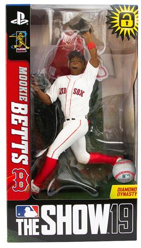 2019 Mookie Betts Boston Red Sox McFarlane Baseball Figure
