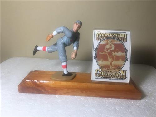 Babe Ruth Boston Red Sox Starting Lineup Figure Custom Wood Plaque Display