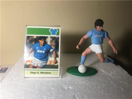 1989 Diego Maradona Shooting Opened Soccer Starting Lineup Figure with Card