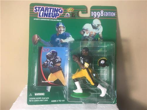 1998 Jerome Bettis Pittsburgh Steelers Starting Lineup Figure
