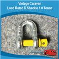 LOAD RATED D SHACKLE 1.0 TONNE CB0115