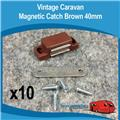 MAGNETIC CATCH BROWN 40MM 10PC H0106