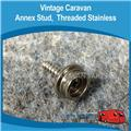 ANNEX STUD THREADED STAINLESS  ( 4 )  A0117