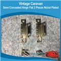 Semi Concealed Flat Cupboard Door Hinges H0127