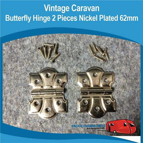 Butterfly Hinges Large  ( 2 ) H0124