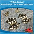 Caravan Butterfly Hinges Small ( 2 )
