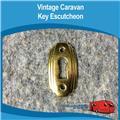 Caravan Cupboard Key Escutcheon