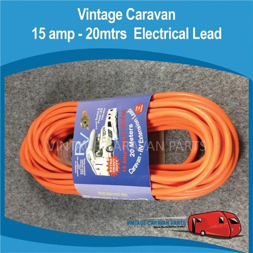 15 amp 20M Electrical Lead Powered Sites E0145
