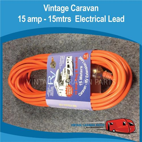 15 amp 15M Electrical Lead Powered Sites E0144