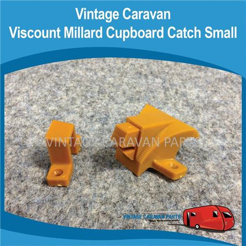 Cupboard Catch Square Mouse Brown