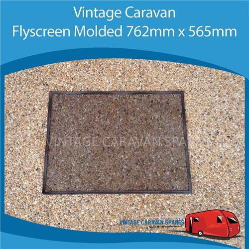 Caravan FLY SCREEN MOULDED 762MM x 565MM Square