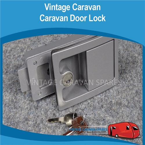 Recessed Door Lock  2 Piece Heavy Duty D0115