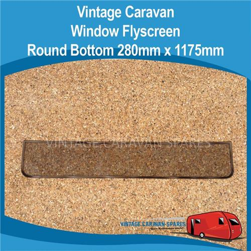 Fly screen ROUND Bottom Vintage ( 280mm x 1175mm )  010239