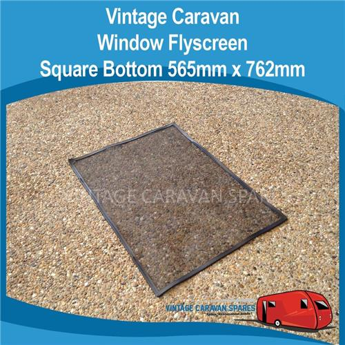 Window Flyscreen SQUARE Bottom  ( 565mm x 762mm ) 010301
