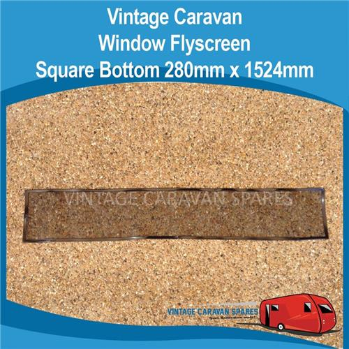 Window Flyscreen SQUARE Bottom  ( 280mm x 1524mm ) 010296
