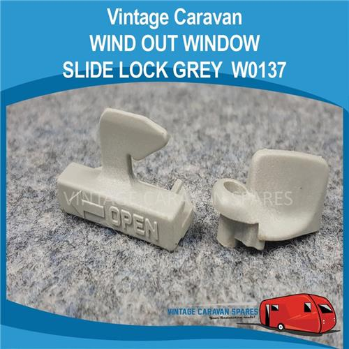 Window Slide Lock ( GREY ) W0137