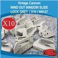 Window Slide Lock ( GREY X 10 ) W0137