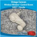 WIND OUT WINDOW WINDER HANDLE ( GREY )  W0146
