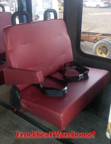 Fold Down Van Bench Seat With Built In Seat Belts Hide
