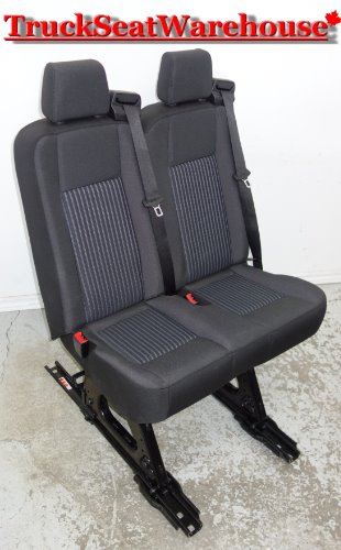 Black Ford Transit Removeable Passenger Van Bench Jumpseat Savanna Express  Truck