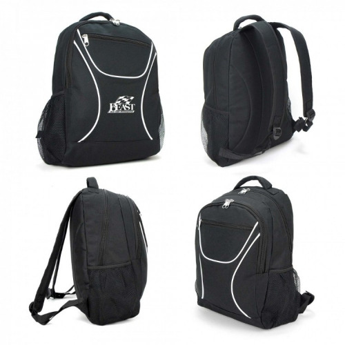 G2171 backpack black,white grace collection.b