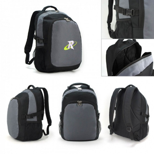 G2163 backpack grey,black grace collection.