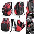 G2198 Rally backpack black red, grace collection