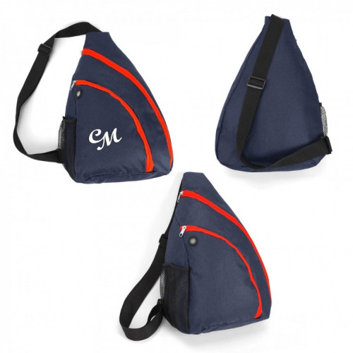 G2187 Surge slingpack backpack navy, red grace collection
