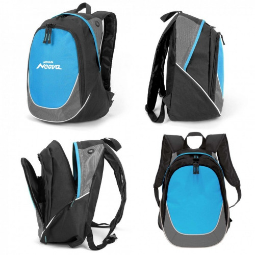 G2186 Mercury backpack royal blue,silver,black grace collection,