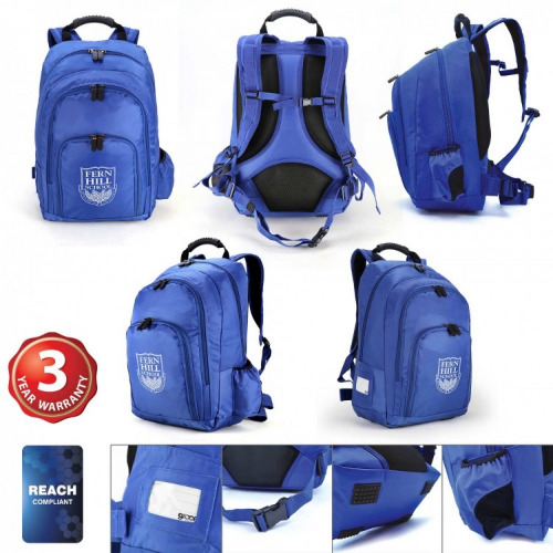 G2184 Castell backpack royal blue, grace collection