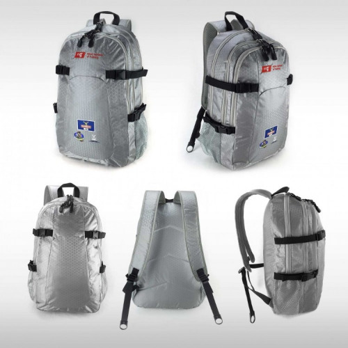 G2172 Beez Silver,black,backpack grace collection