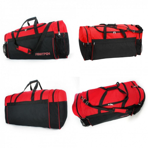 G2000 Large Sports Travel Bag black ,red grace collection