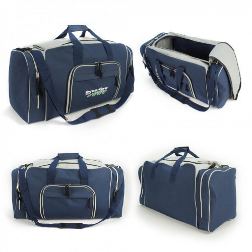 G1800 Deluxe sports travel bag navy, grey grace collection