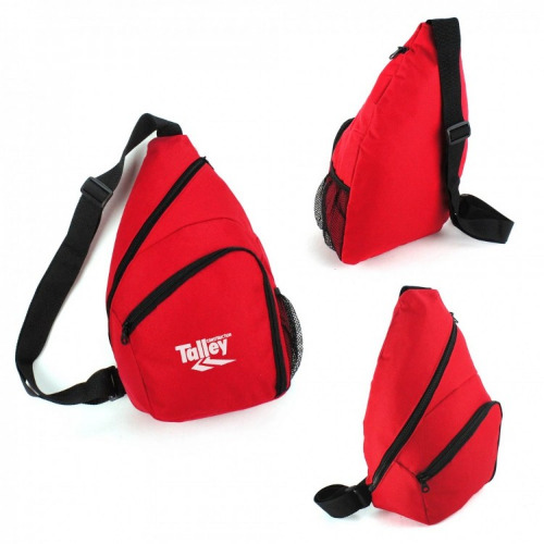 G1478 Slingpack backpack red,black grace collection